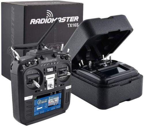 RadioMaster TX16S 16CH Hall Gimbal Multi-Protocol OpenTX Radio Transmitter -USED