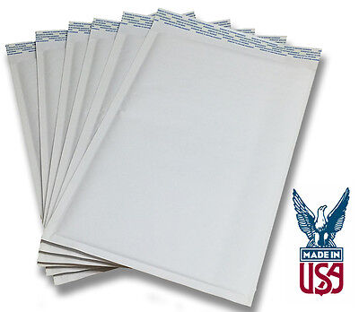 Size #00 5x9 Kraft White Bubble Mailers (SHIPS TODAY) (White Bubble)
