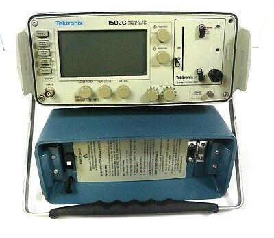 Tektronix 1502c Metallic Tdr Cable Tester - Free Shipping