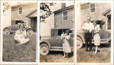 1920s Family 1925-1926 Chevrolet Chevy Superior K Coupe Speed Goddess Photos