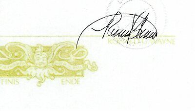 Ronald Wayne Apple Co-Founder Hand Signed Autograph 3x5 Cut