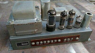 Hammond AO 35 6BQ5 tube amp amplifier