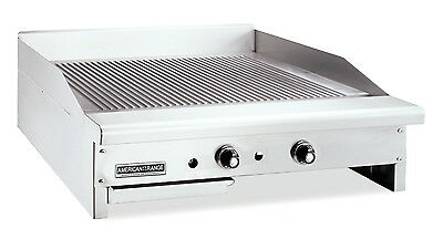 American Range Artg-36 Counter Unit 36 Inch Thermostatic Gas Griddle With Stee