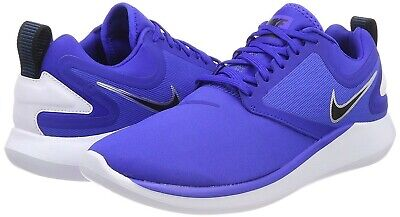 NIKE Lunarsolo Men's Running Shoes AA4079406 Size 9 Racer Blue New w/out box