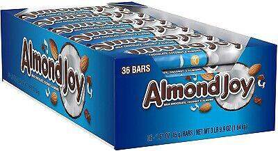 ALMOND JOY 🥛 🍫 Coconut Bar 36PK 2DAYSSHIP 🇺🇲 🇺🇲 READ 📖