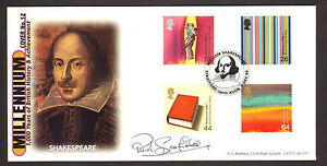 GB-AG-BRADBURY-FDC-SHAKESPEARE-ARTISTS-TALE-SIGNED-BY-PAUL-SCOFIELD-LTD-EDITION