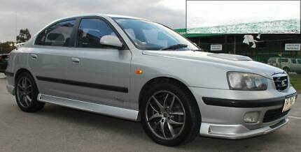 Next 2002 Hyundai Elantra GLS