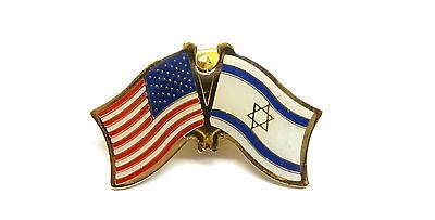 US and Israel Flag Lapel Pin / US & Israel Pin
