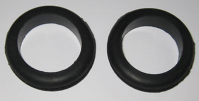2 X Rubber Grommet Fits 1-34 Diameter Hole And 18 Thick Panel - 2-18 Od