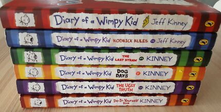 Diary of a Wimpy Kid Book Bundle Gift Set of 6