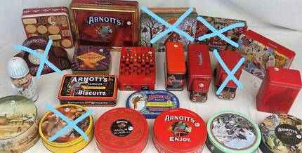 550+ Collectable Biscuit Tin Sale  - 8am - 3pm - SAT 10th March