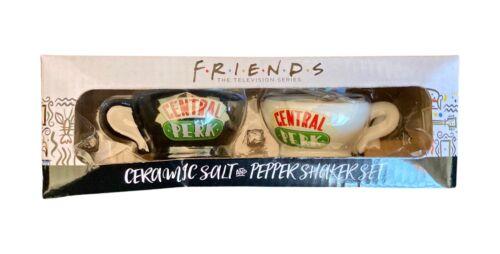 Friends TV Show Ceramic Salt and Pepper Shaker Coffee Mugs Set Central Perk NEW