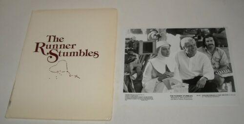 1979 The RUNNER STUMBLES PROMO MOVIE PRESS KIT 13 PHOTOS DICK VAN DYKE MURDER