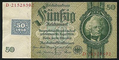 Ro.337c 50 DM 1948 Kuponausgabe (2)