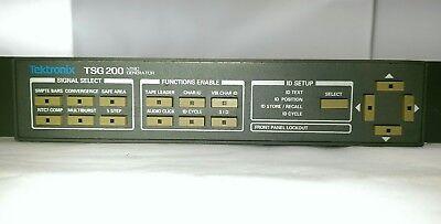 Tektronix Tsg-200 Rackmount Ntsc Multiburst Audio Tone Video Signal Generator