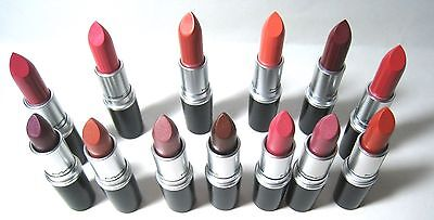MAC Cremesheen & Frost Lipsticks (Choose a color) Full Size/New 100% Authentic