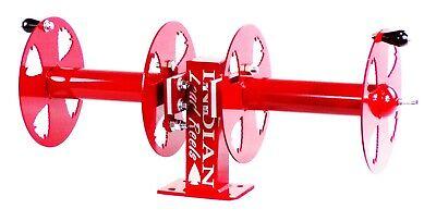 10 Welding Lead Cable Reel Side-by-side Heavy Duty Red