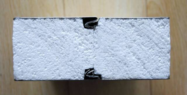 Zlock Coolroom Sandwich Panel 50 75mm Partition Insulation