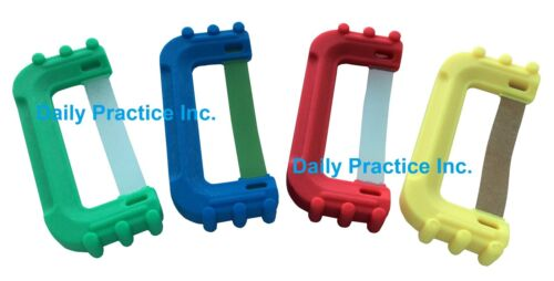 FLASH Single-Handed Single-Use Composite Polishing Strips All Grits Box/100