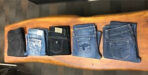 5 Guess & Silver Jeans Size 26/27