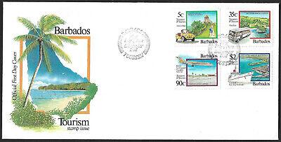 Barbados 1992 Transport & Tourism FDC