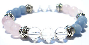 INNER HEALING 8mm Crystal Intention Bracelet w/Description - Healing Stone