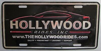 2008 Hollywood Rides Inc Sales Financing Leasing Export Booster License Plate