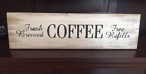 Handmade Coffee Sign