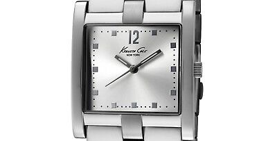 PRE-OWNED $95 Kenneth Cole Women's Stainless Steel Watch KC4674 MISSING CROWN ()