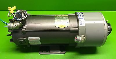 Baldor Gdp3455 1 Hp Dc Motor With Boston Gear Brake Cmb56r-3 3 Ft. Lb. Torque