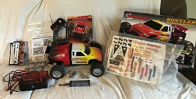 TRAXXAS ~ RUSTLER RTR ULTIMATE STADIUM RACER Remote Control Car 1/10 Scale ~Used