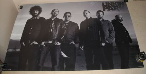 ROLLED 2007 Funky Posters # 8976 LINKIN PARK BAND PORTRAIT PINUP POSTER 22.5 34