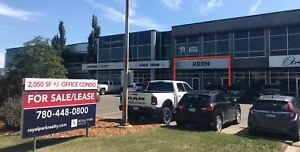 SHERWOOD PARK OFFICE CONDO FOR SALE/LEASE