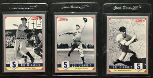 1992 Score #3 Joe DiMaggio New York Yankees Baseball Card
