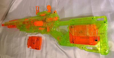 MODIFIED NERF SONIC LONGSTRIKE CS-6 ELITE GUN BLASTER CUSTOM N-STRIKE LONGSHOT
