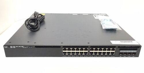 Ws-c3650-24pd-l - Cisco C3650 24 Port Poe+ Ge 2x10g 640w Lan Base *same Day Ship