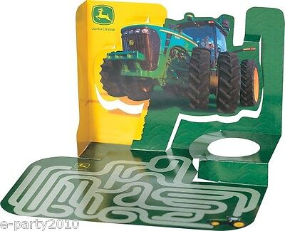 JOHN DEERE ACTIVITY PLACE MATS (4) ~ Birthday Party Supplies Table Decorations ](John Deere Party Decorations)