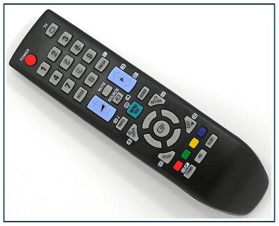 ERSATZ SAMSUNG TV FERNBEDIENUNG F R LE40B551A6W LE40B553M3W LE40B554M2W