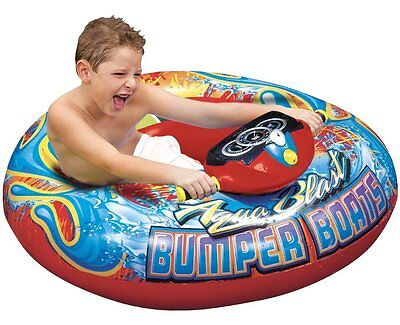Spring & Summer Toys Banzai Motorized Bumper Boat Pool Rider