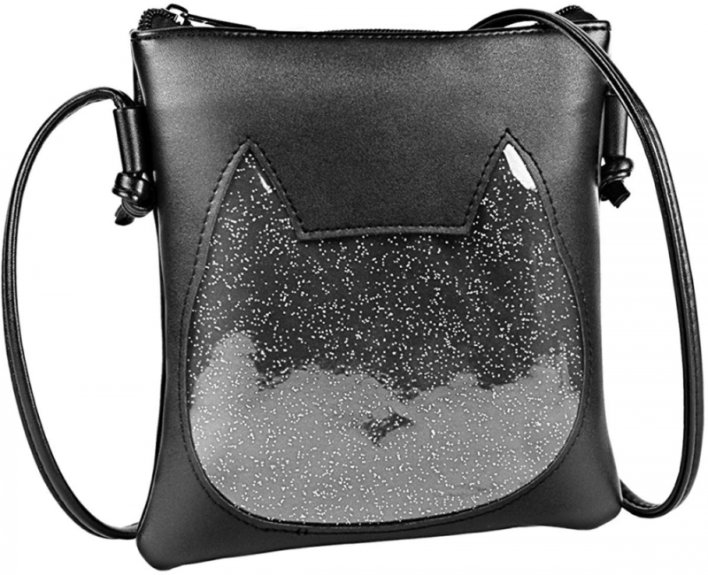 FF1 Adjustable Small Clear Heart Cross-body Ita Bag Cell Pho