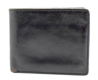 Mancini Leather Mens Bifold Leather Wallet Black