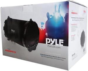 New - PYLE QUALITY PBMSPG15 - INSTANT PARTY MACHINE - PORTABLE BLUETOOTH BOOMBOX with RECHARGEABLE BATTERY