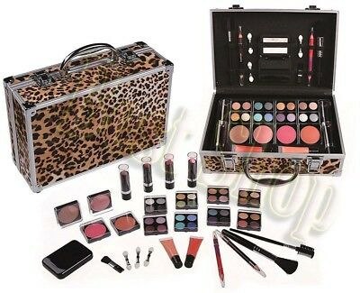 All In One Makeup Kit (ShanyShine Beauty Makeup Kit All in One Set Eye Shadow Gift Set Leopard)