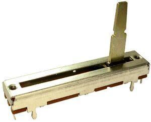 2 Schiebepotentiometer 50k linear 30mm mit Mittenrast