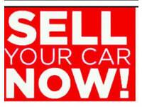We buy any condition car and free collection