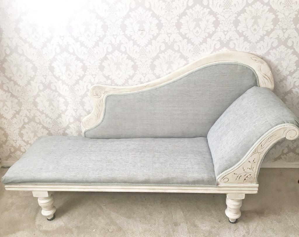 shabby chic chaise lounge in shifnal shropshire gumtree. Black Bedroom Furniture Sets. Home Design Ideas