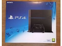 NEW Sealed Sony PlayStation 4 (PS4) Black 500GB Latest Model CHEAP PRICE
