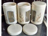Brabantia jars with window