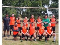 Get back into football, find 11 aside football team, JOIN LOCAL FOOTBALL TEAM