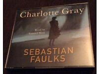 """""""Charlotte Gray"""" Sebastian Faulks-CD Audiobook"""